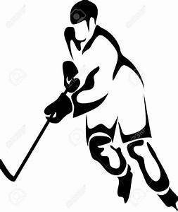 Hockey Player Clip Art #139438