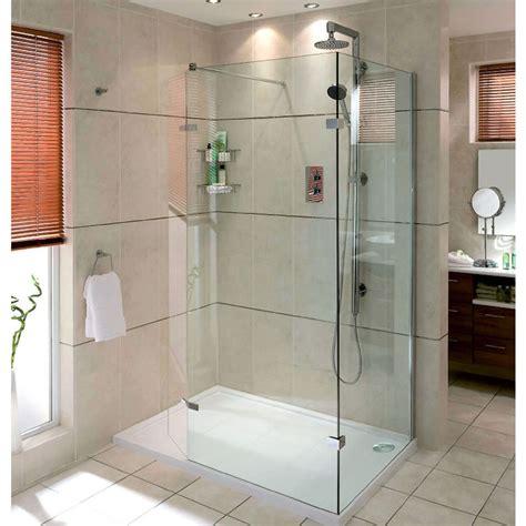 walk in shower aqata spectra walk in shower enclosure with hinged panel sp446c corner uk bathrooms