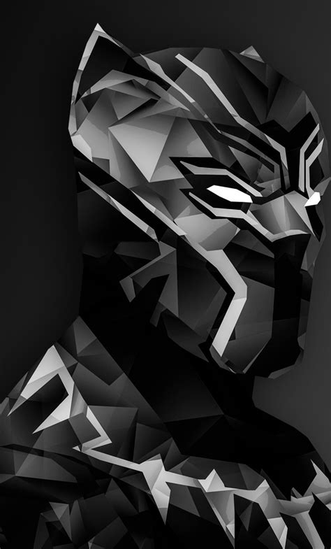 Black Panther Digital Art, Full Hd 2k Wallpaper