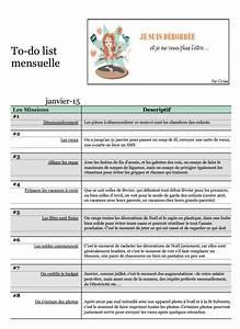 To Do List Déménagement : to do list de janvier 2015 je suis d bord e ~ Melissatoandfro.com Idées de Décoration