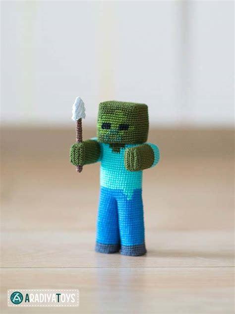 The Crochet Patterns Let You Make Minecraft Amigurumi