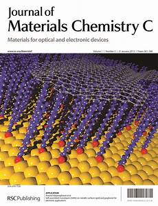 Journal Of Materials Chemistry A  B And C Issue 3 U2019s Online