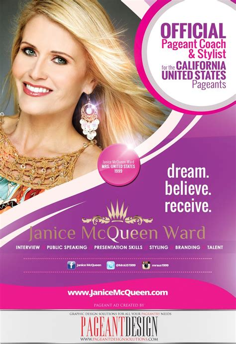 pageant ad page template 31 best pageant coaching business ads pageant design