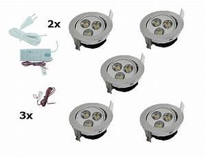 Led Spots Set : spotset 5 stuks ledware uw specialist in ledverlichting led inbouwspot 3 delig doe het zelf ~ Eleganceandgraceweddings.com Haus und Dekorationen