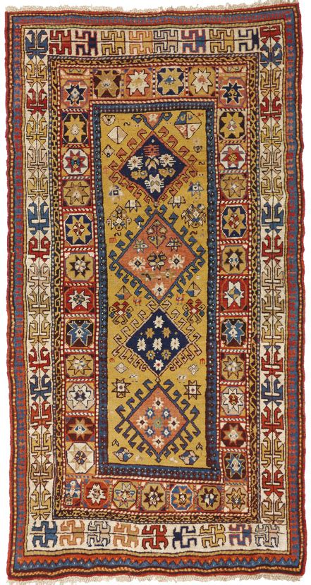 tappeti caucasici tappeto kazak cm 100 x 200 moranditappeti morandi tappeti