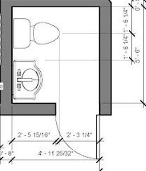 Small Powder Room Floor Plan  Townhouse Inspirations
