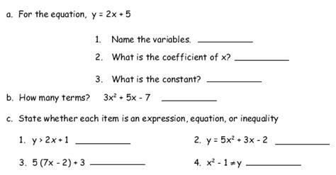 math expressions grade  worksheets  sanfranciscolife math th grade algebra and functions