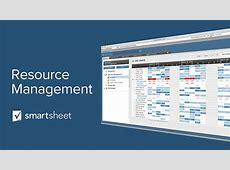 Using Resource Management in Smartsheet YouTube
