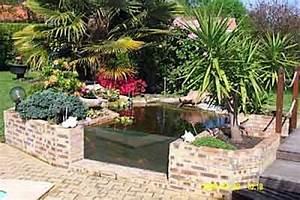 Bassin De Jardin Pour Poisson : bassin poisson exterieur hors sol cgrio ~ Premium-room.com Idées de Décoration
