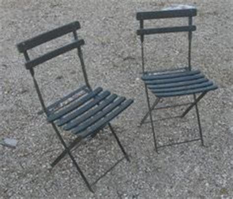 chaise pliante exterieur chaise jardin chaises fer forgé ancienne vintage 1900