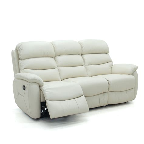 sofa with two recliners glasswells girona 3 seater electric recliner sofa