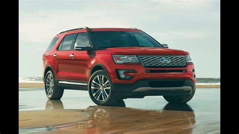 2016 Ford Explorer Platinum / In Depth Review And Test