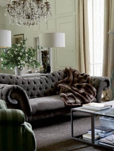 Tufted Velvet Sofa Gray by Greige Interior Design Ideas And Inspiration For The