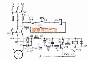 Three-phase Motor Phase-off Protection Circuit