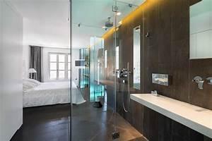 la salle de bain dans la suite parentale With suite parentale avec salle de bain et dressing