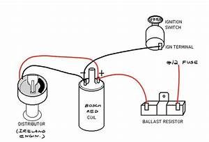 Distributor 12 Volt Ignition Coil Wiring Diagram