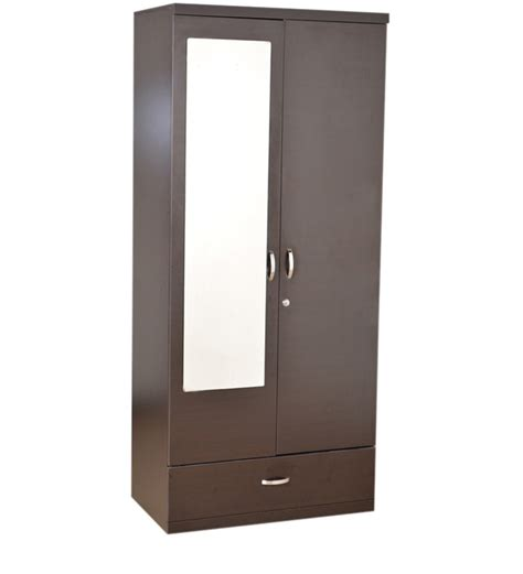 2 Door Wardrobe by Buy Utsav Two Door Wardrobe With Mirror By Hometown