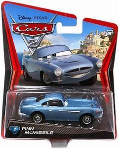 Disney Pixar Cars 2 Movie Finn McMissile Mattel Die Cast ...