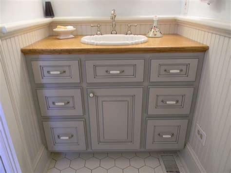 custom design paintedglazed powder room vanity