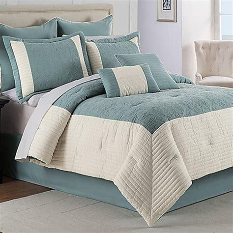 hathaway  piece comforter set bed bath
