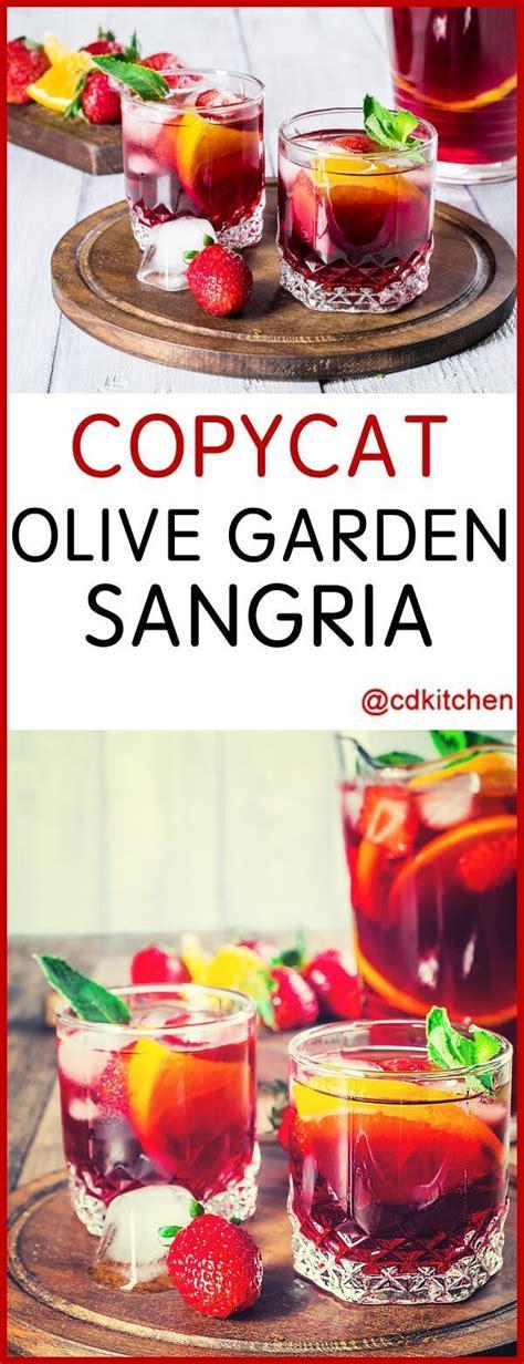 olive garden cranberry pa 25 b 228 sta sangria id 233 erna p 229 sangriarecept