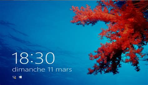 horloge bureau windows comment afficher l horloge sous windows 8