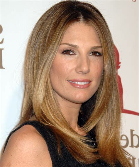 daisy fuentes casual long straight hairstyle