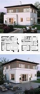Moderne Häuser Mit Grundriss : moderne landhaus stadtvilla grundriss mit walmdach architektur erker anbau holz fassade ~ Bigdaddyawards.com Haus und Dekorationen