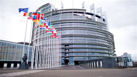 Europaparlament In Strasbourg by European Parliament To Debate Support For Steel Industry