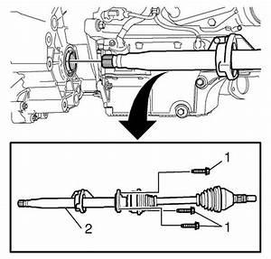 Vauxhall Workshop Manuals  U0026gt  Astra J  U0026gt  Driveline  Axle