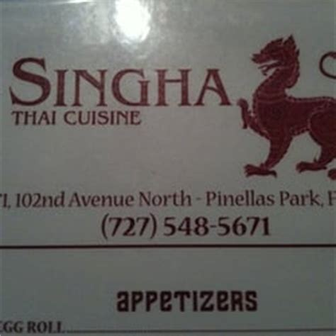 singha cuisine singha cuisine lukket 6571 102nd ave n
