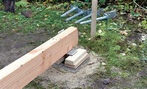 Holzterrasse Bauen  Holzterrasse Selbstde