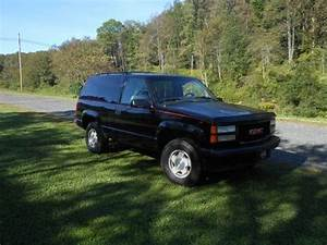 Sell Used 1995 Gmc Yukon Gt Two Door Rare Factory 5 Speed