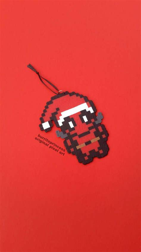 deadpool christmas ornament nerdy christmas ornament