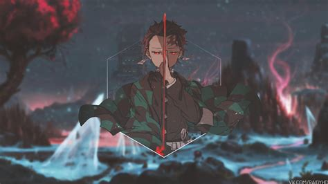 tanjiro kamado kimetsu  yaiba wallpapers wallpaper cave