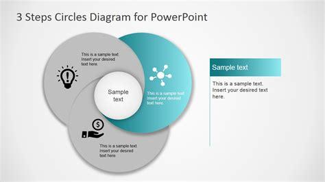 step circles diagram  powerpoint slidemodel