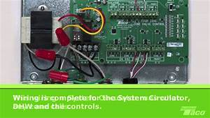 How To Wire A System Circulator To A Taco Zone Valve Control  Zvc