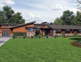 stunning ranch home plans plan w69510am stunning contemporary ranch home plan e