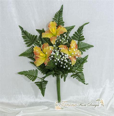 fiori per composizioni floreali per loculi bz15 pineglen