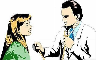 Doctor Patient Clipart Cliparts Female Illustration Emperor