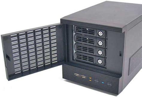 New 4 Bay Mini-itx Hot Swap Case Brings Home Server Heaven