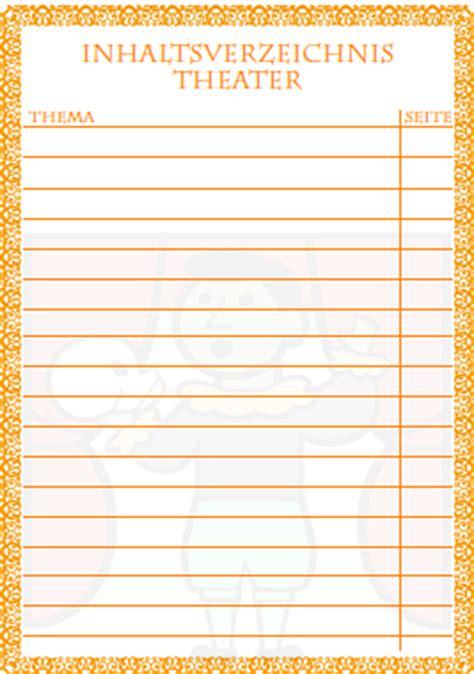 inhaltsverzeichnis theater ausdrucken