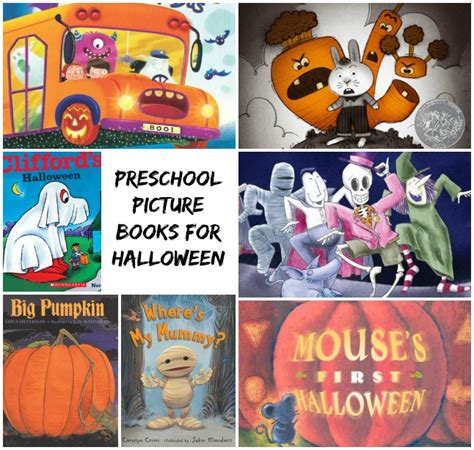 12 picture books for preschoolers where 203 | Halloween picture books for kids