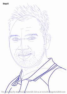 learn how to draw rohit sharma cricketers step by step