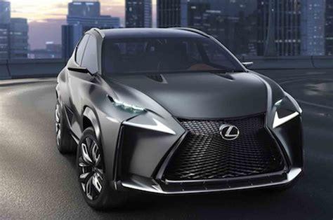 lexus lf nx turbocharged lexus lf nx concept heading to tokyo gtspirit