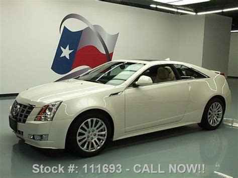 Cadillac Cts Sunroof by Find Used 2012 Cadillac Cts 3 6 Performance Coupe Sunroof