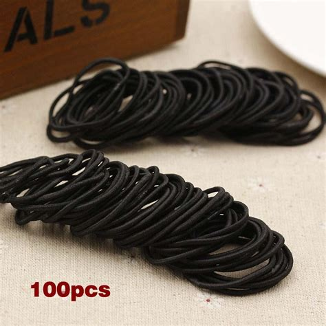 hair elastic bands ties ponytail head rope band holder hairbands styling headwear pcs 100pcs child scrunchie accessories