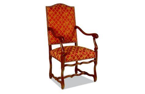 fauteuil louis xiii os de mouton meubles hummel