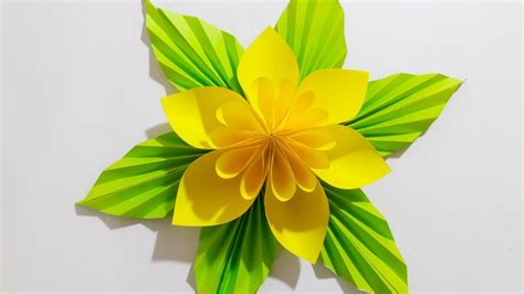 origami easy paper flower   easy    paper