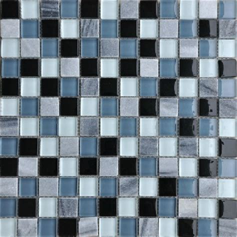 Design decor glass mosaic blue kitchen backsplash tiles
